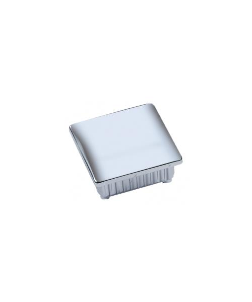 Inserto quadrato ABS cromato