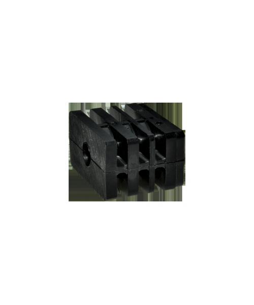 Connettore componibile rettangolare (dado)