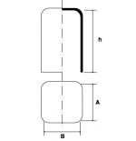 Cappellotto quadrato e rettangolare in PVC