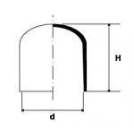 Puntale in PVC